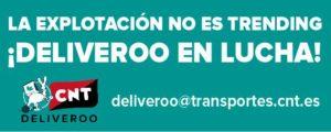 Le operatrici del call center di Deliveroo protestano in Spagna