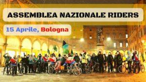 Giusta paga, sicurezza e diritti: i Riders verso l'assemblea di Bologna